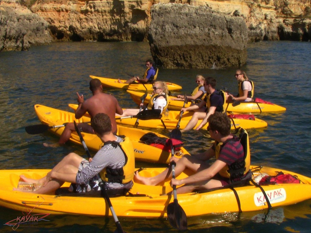 lagos kayak day tours adventures portugal