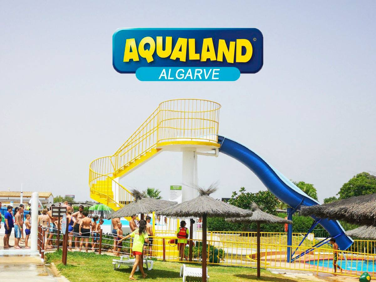 stairs for the slide aqualand ticketshop
