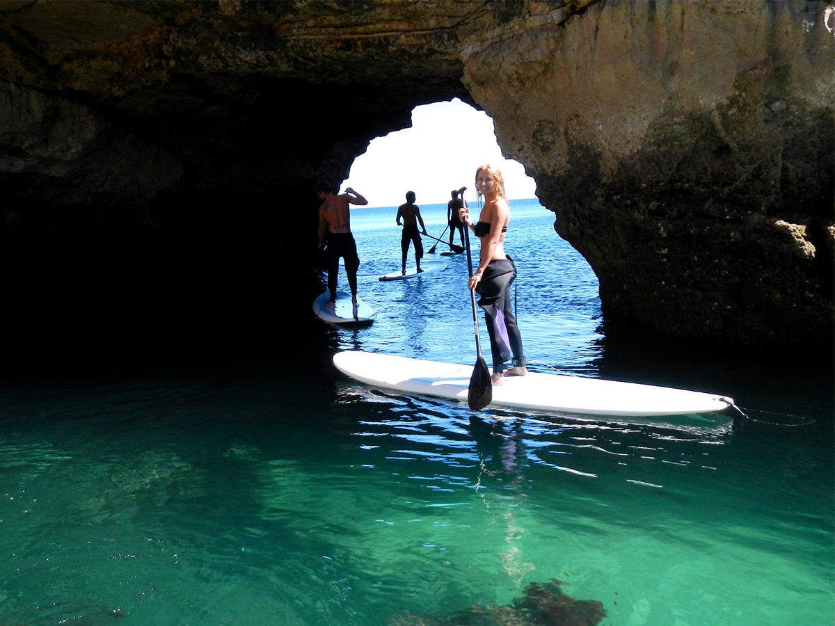 paddle in caves lagos