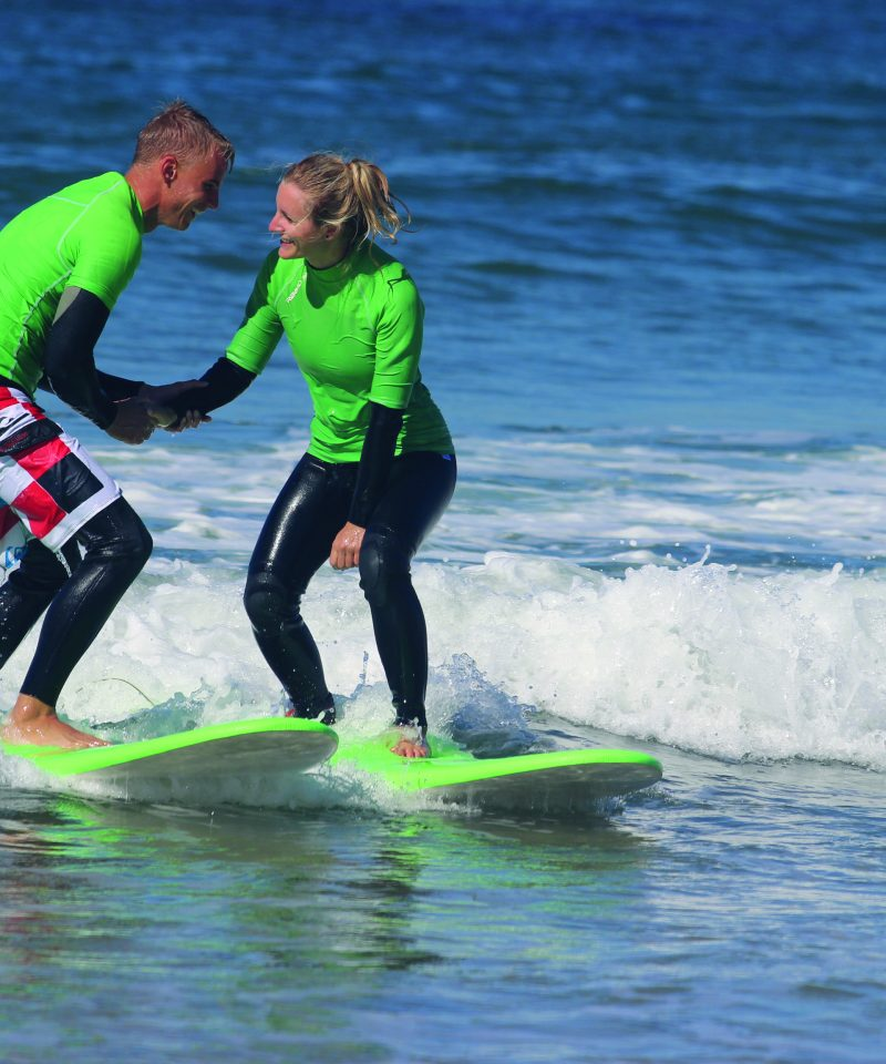 couples doing surf lagos