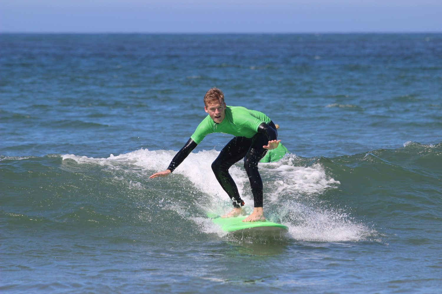 Surfing in lagos portugal
