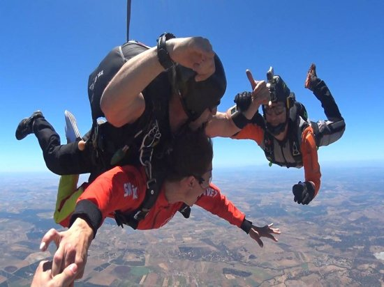Skydive in portugal